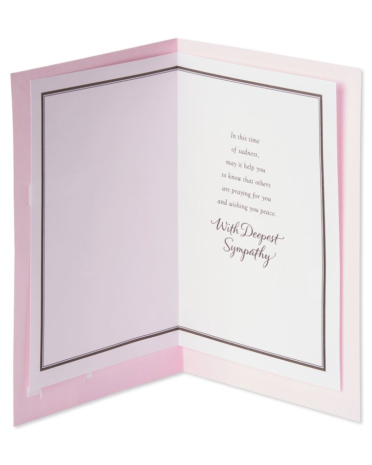 Religious Power of Prayer Sympathy Card