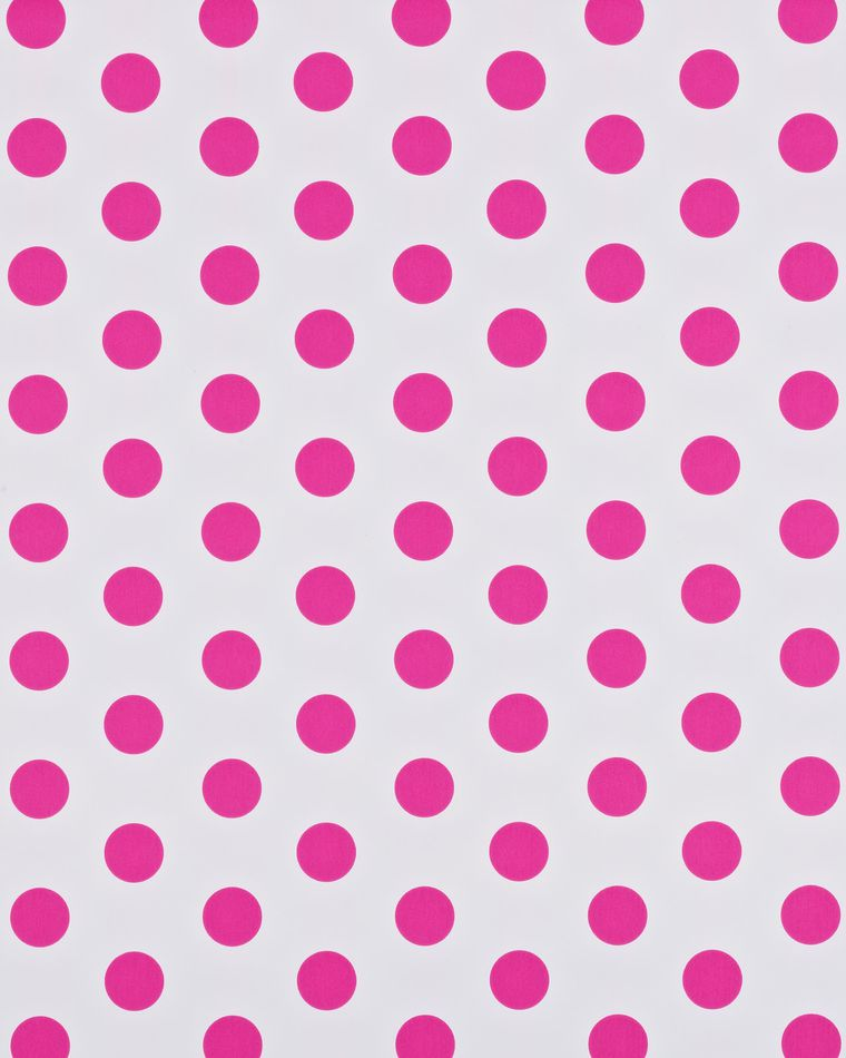 Reversible Wrapping Paper, Pink and Polka Dots