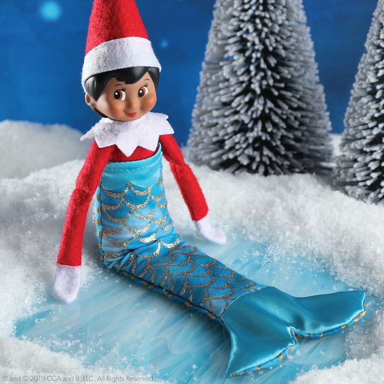 The Elf on the Shelf® Claus Couture Merry Merry Mermaid Tail