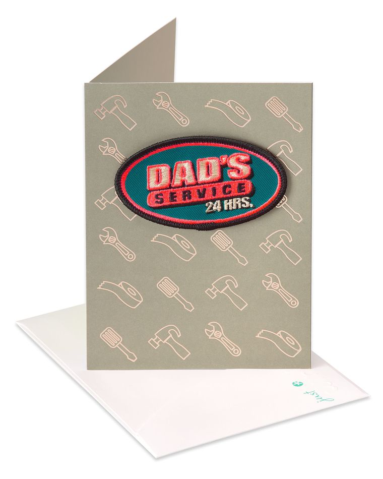Service Father's Day Card
