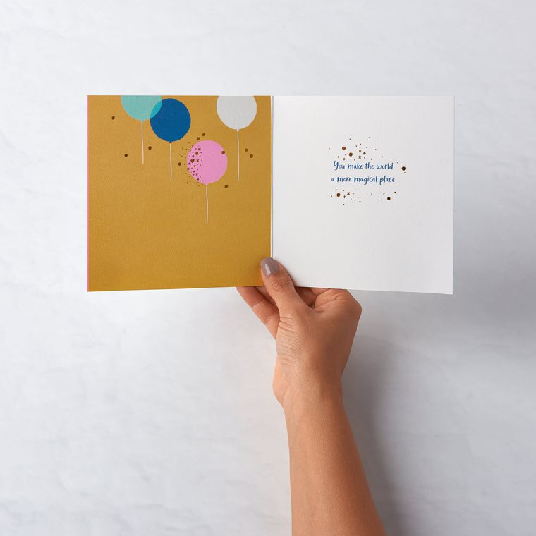 Magical Place Birthday Card for Wife