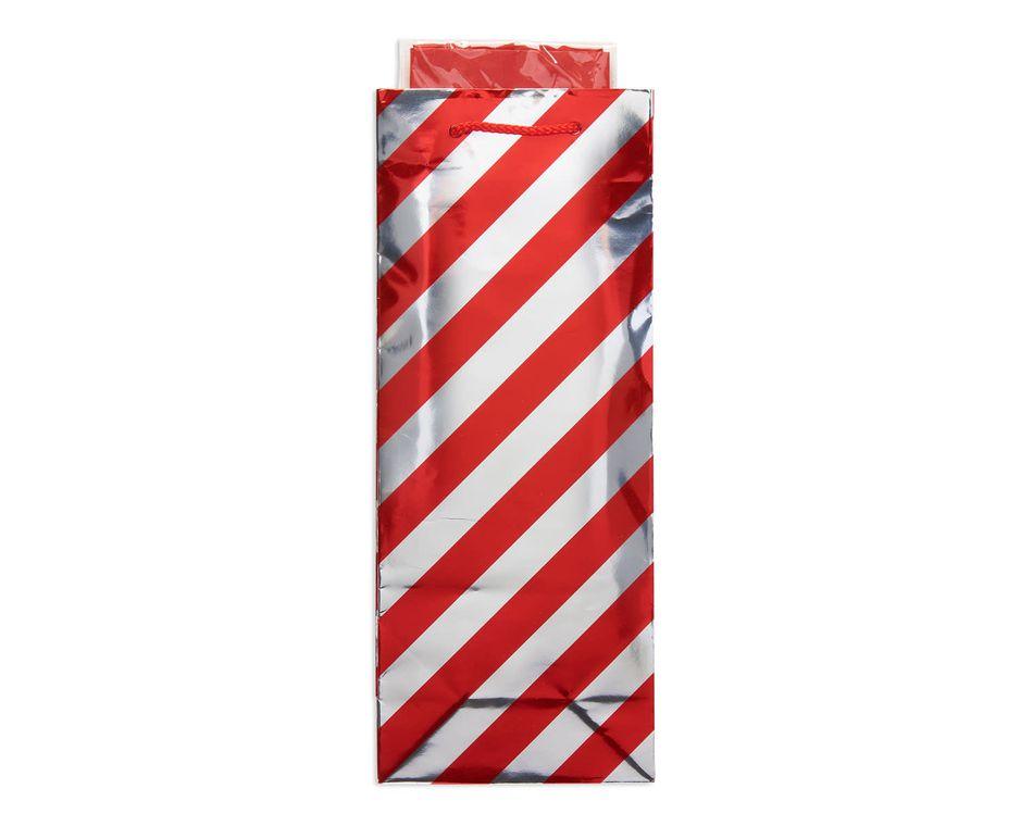 red stripe christmas beverage combo gift bag