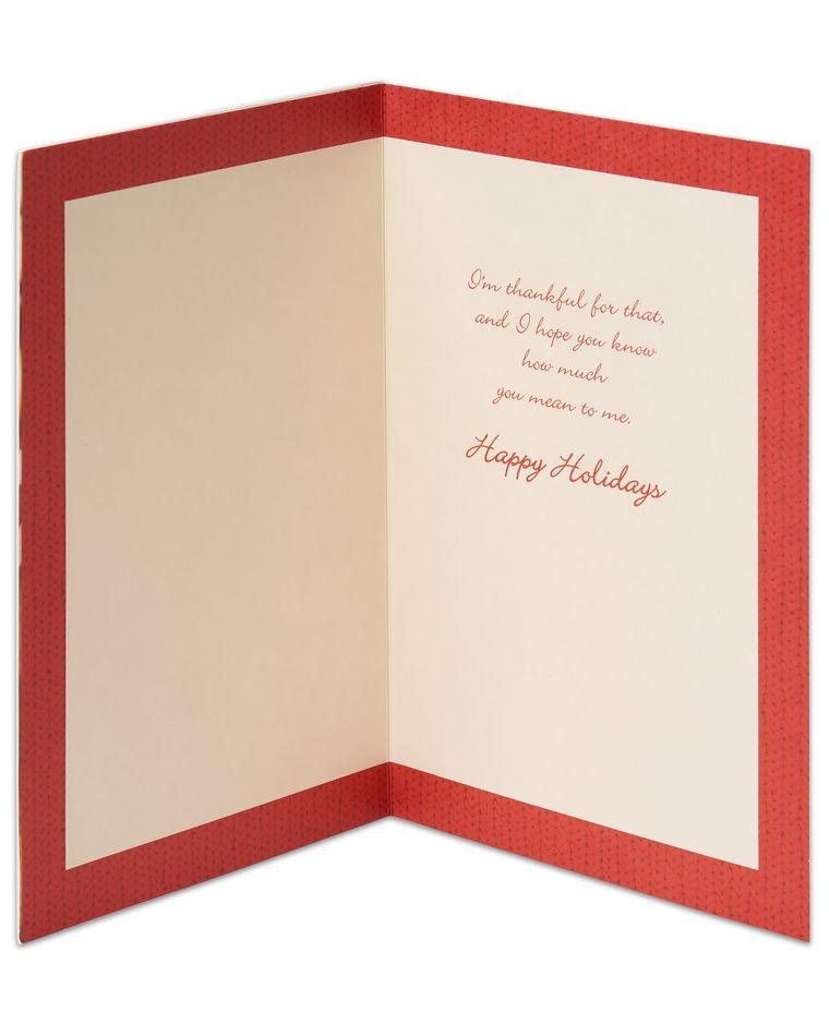Hot Cocoa Holiday Card