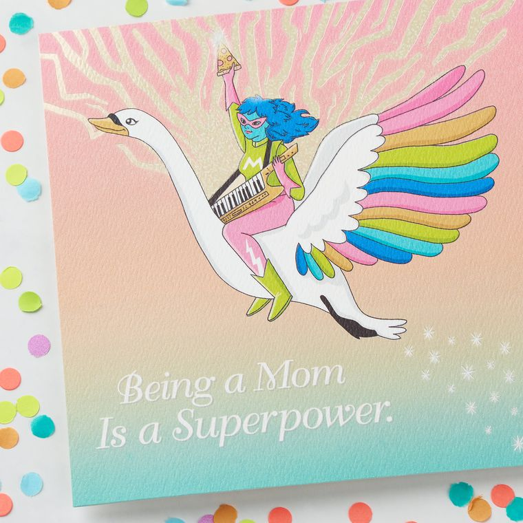 Funny Superpower Mother's Day Card