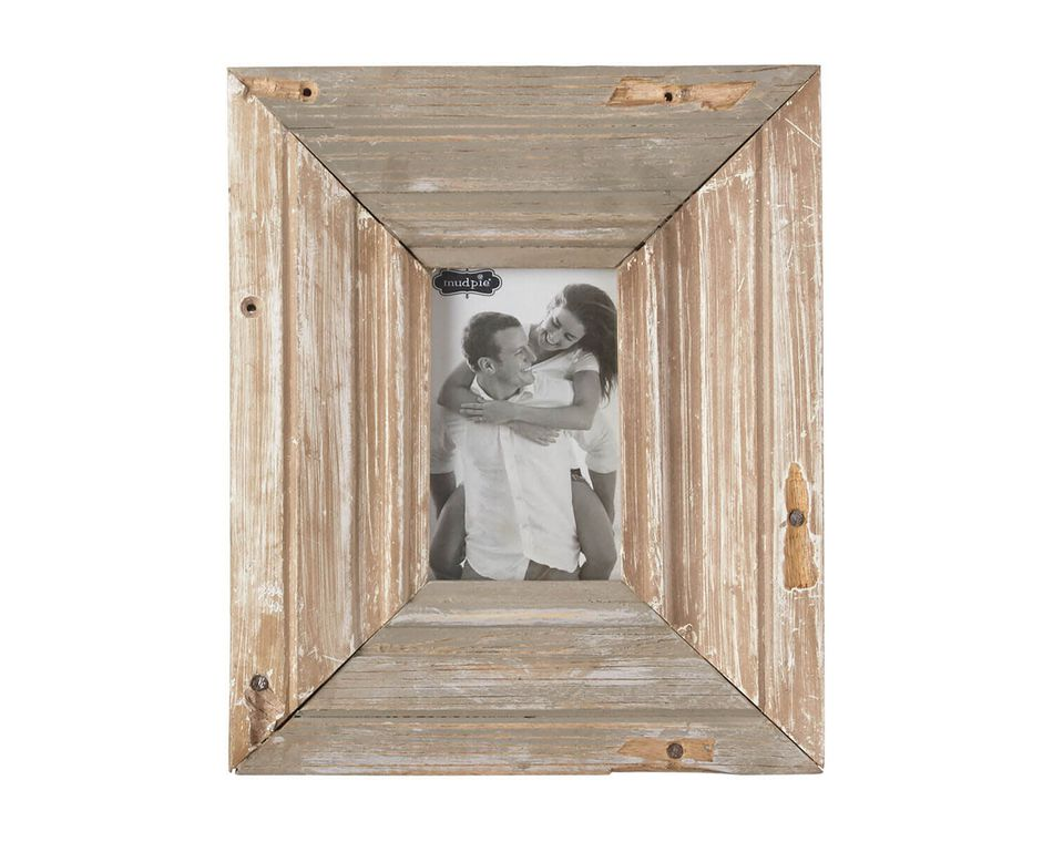 Mud Pie Reclaimed Wood Frame