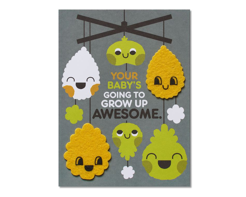 Parents Like You Baby Congratulations Card