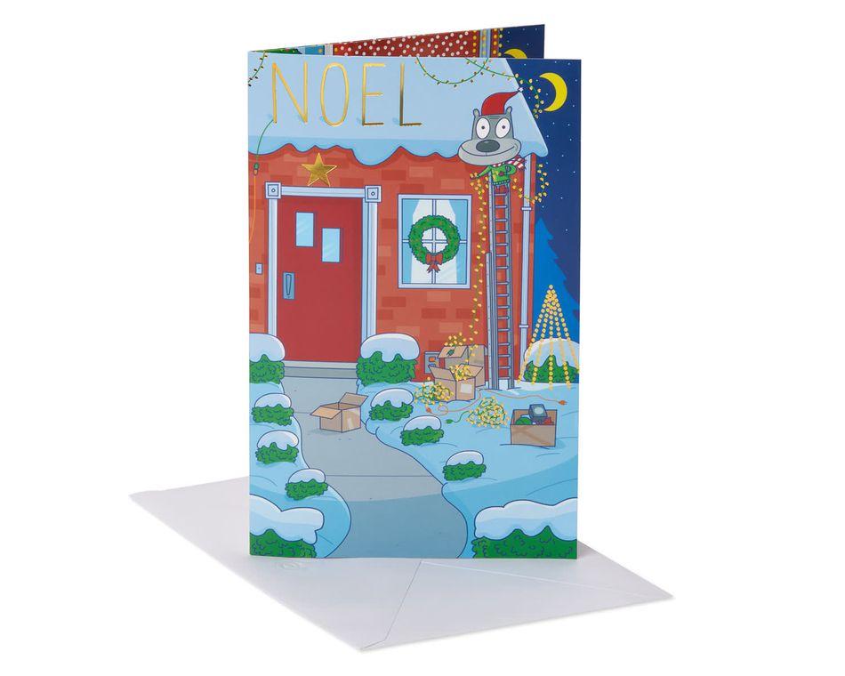 Noel Christmas Greeting Card