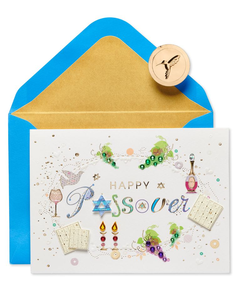 Warmest Wishes Passover Greeting Card