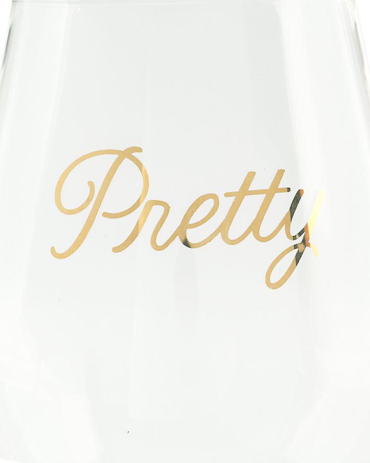 smart & pretty wine glasses (set of 2)