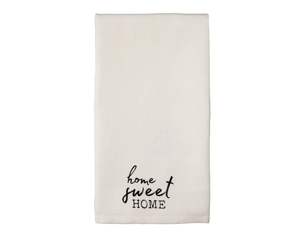 Mud Pie Home Sweet Home Towel