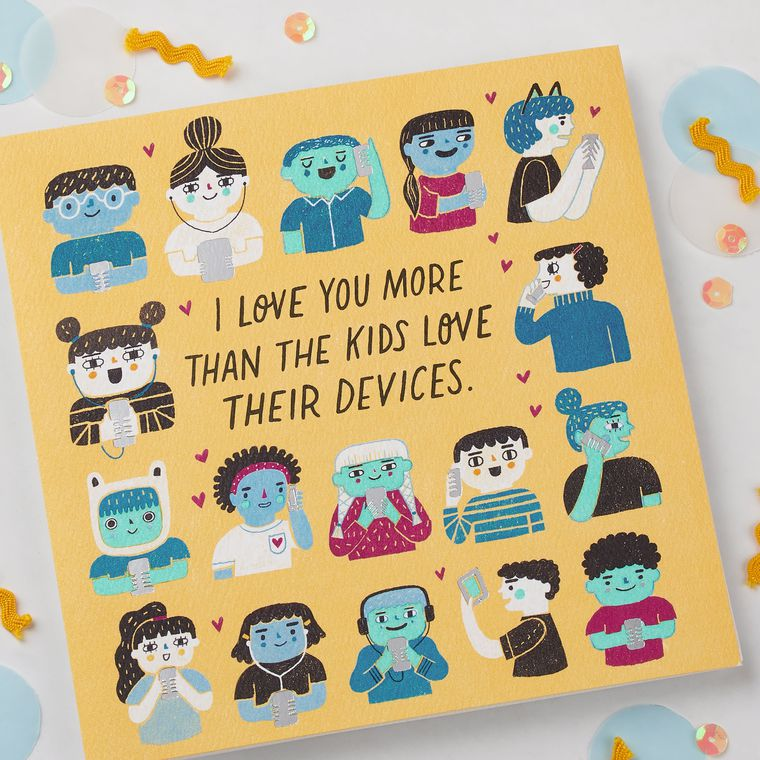 Funny Devices Father's Day Card for Husband