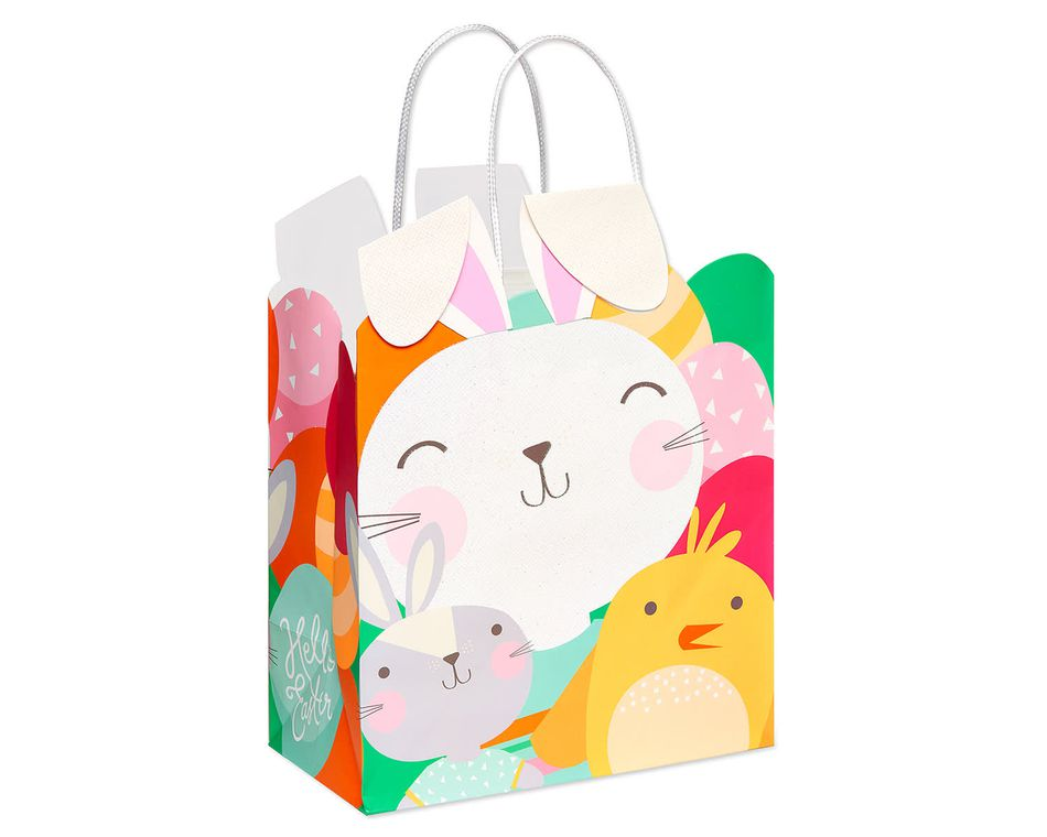 Medium Easter Bunny and Friends Gift Bag