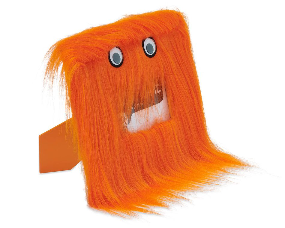Warm Fuzzy Orange Picture Frame