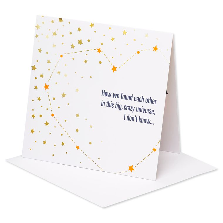Universe Pop-Up Thinking Of You Card