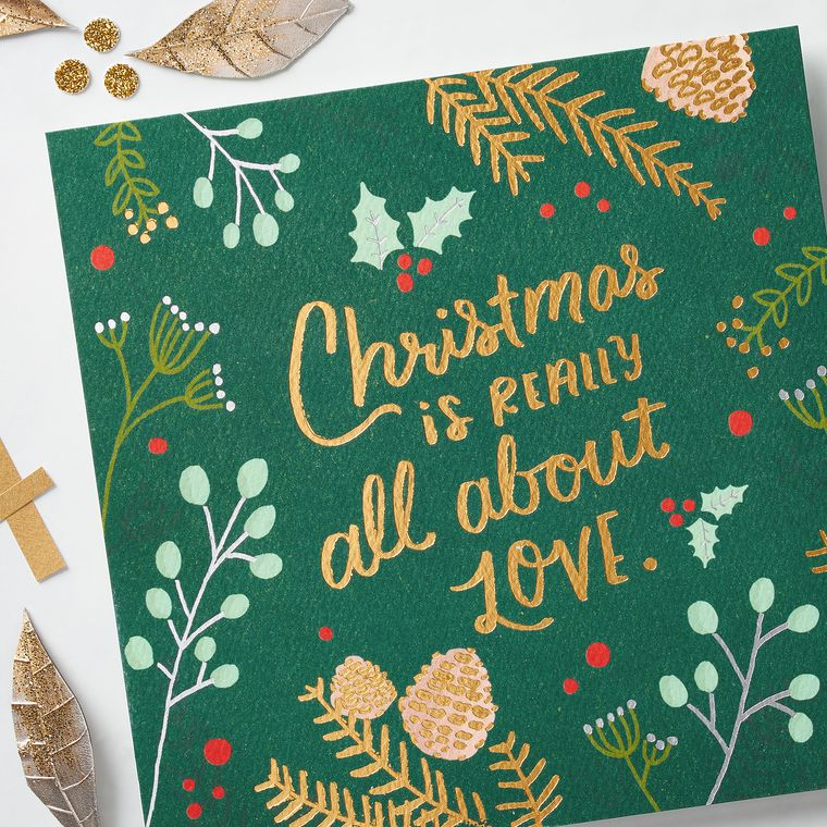 All About Love Christmas Card