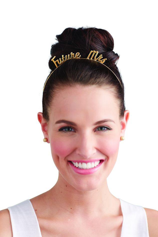 Mud Pie Future Mrs Headband