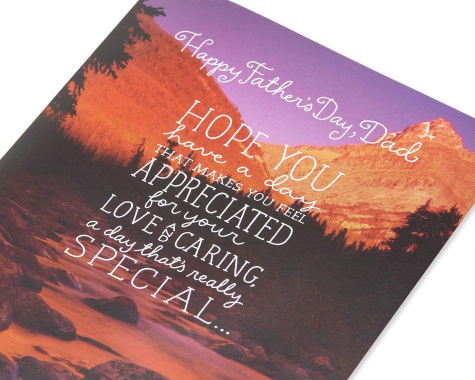 Appreciated Father's Day Card