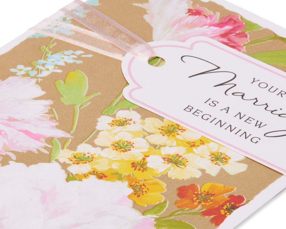 New Beginning Wedding Card