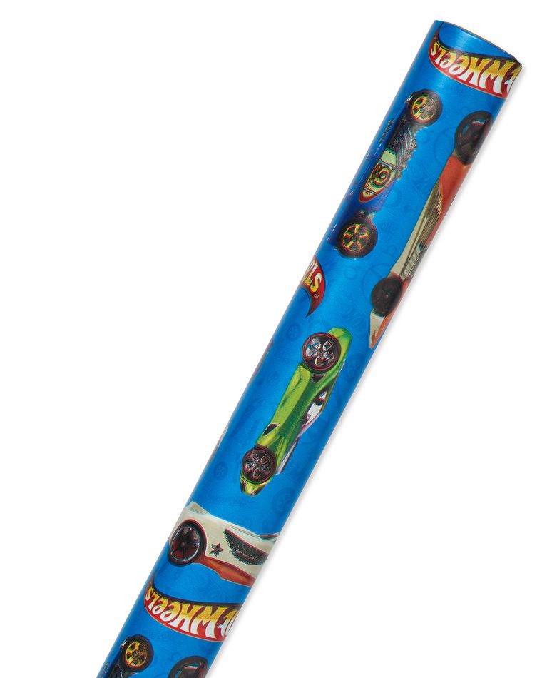 Hot Wheels Wrapping Paper, 20 sq. ft.