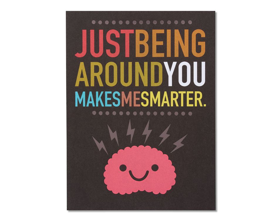 Smarter Thinking of You Card