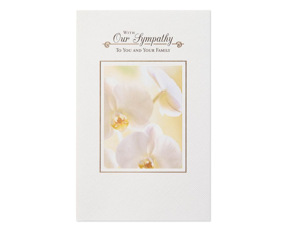 Understand and Care Sympathy Card