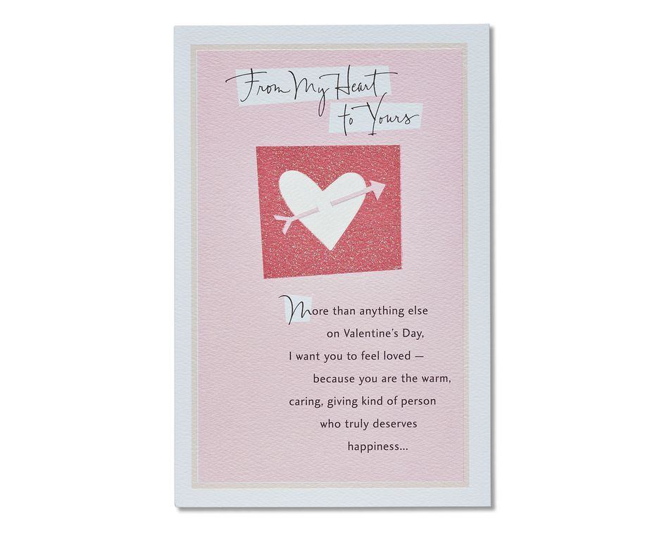 beautiful tomorrows valentine's day card