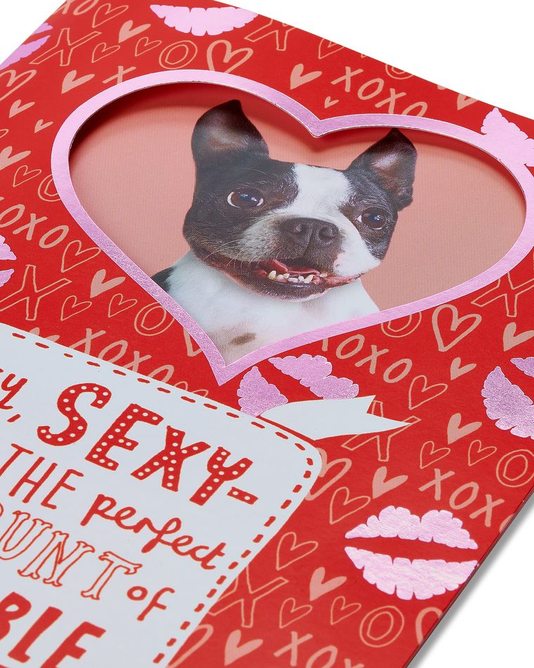 Wiggle it Wishes Funny Valentine's Day Card