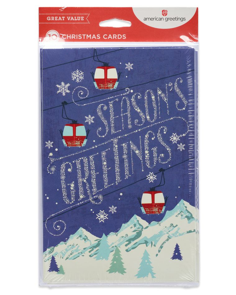 Magic and Wonder Season's Greetings Card, 10-Count
