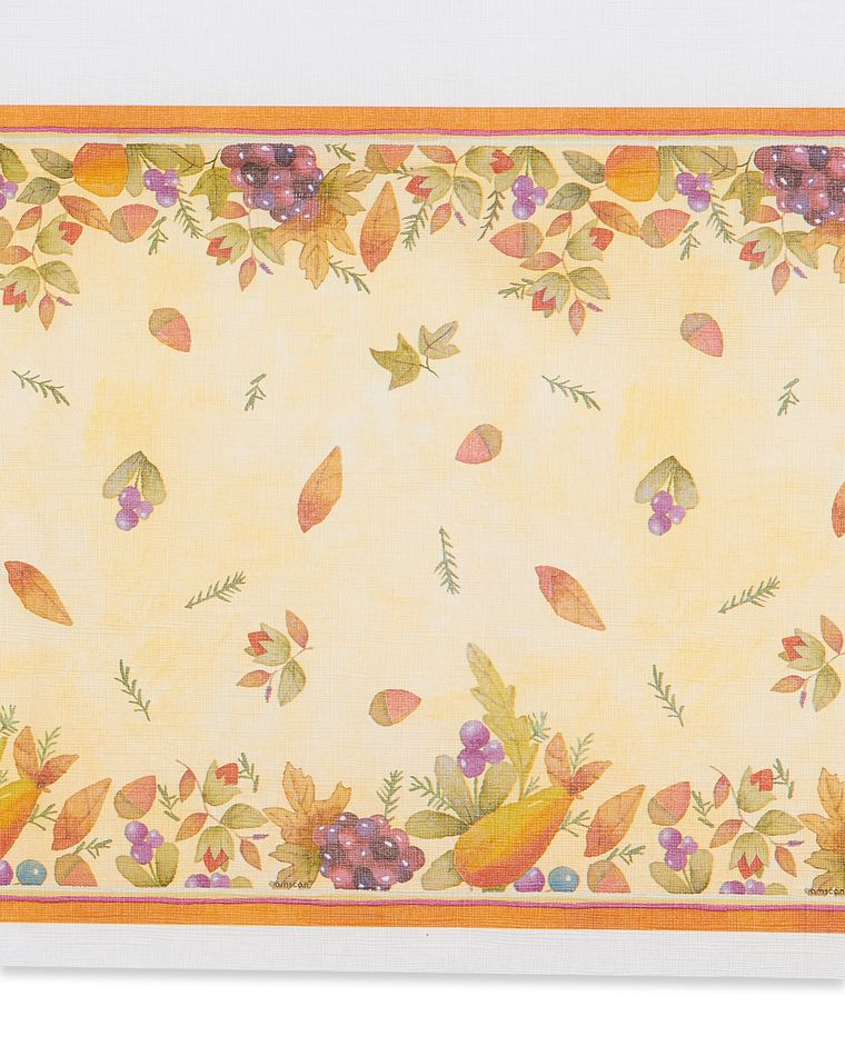 Thanksgiving Medley Paper Table Cover, 54