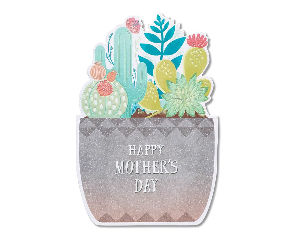 Succulent Mother's Day Card