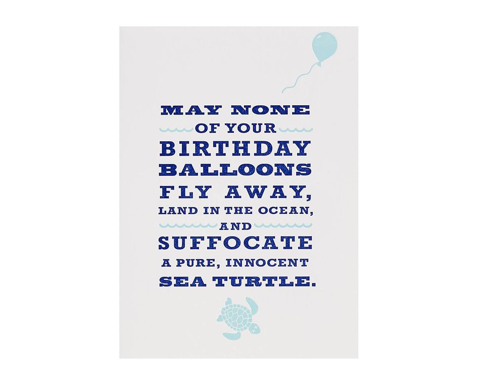 Sea Turtle Birthday Card