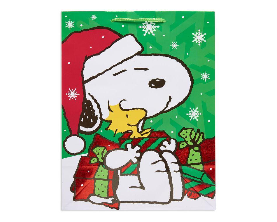 large peanuts christmas gift bag - Large Christmas Gift Bags