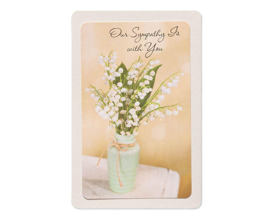 Our Sympathy Sympathy Card