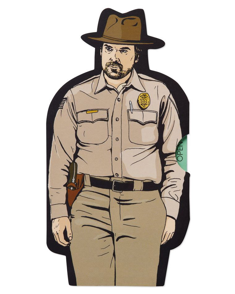 Stranger Things™ Jim Hopper Card