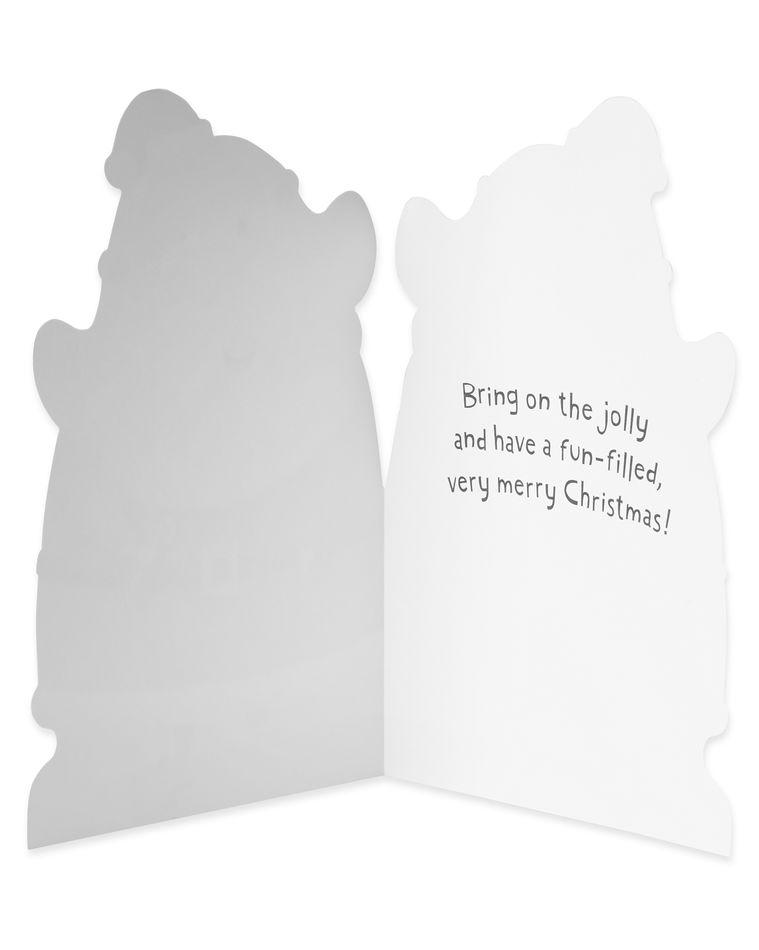 Santa Christmas Card, 6-Count