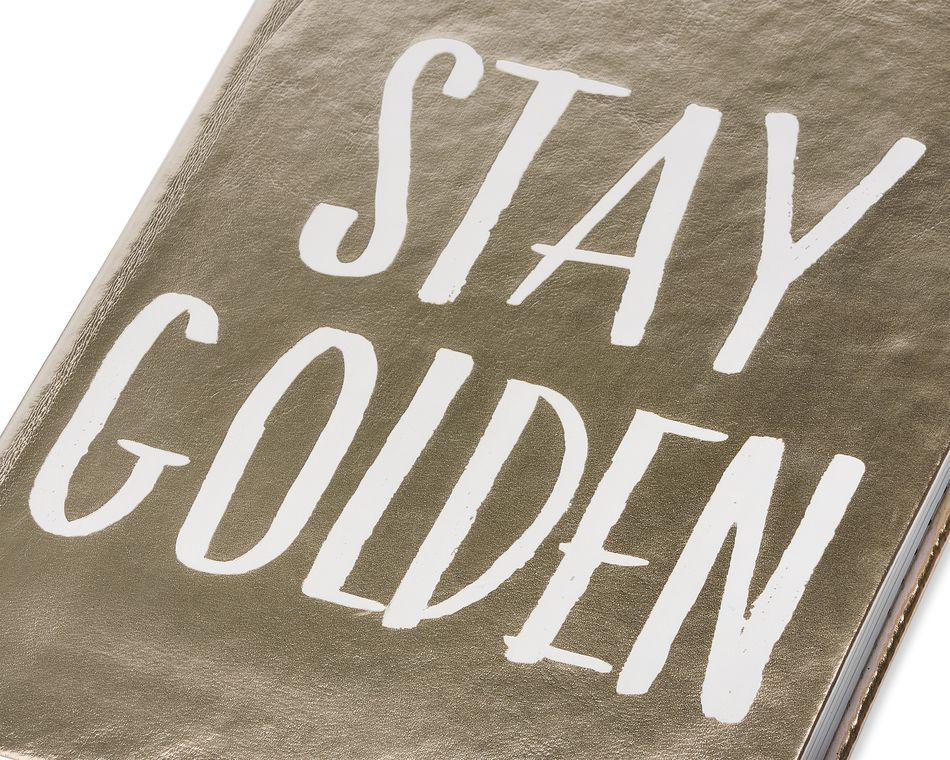 Eccolo Stay Golden Style Journal