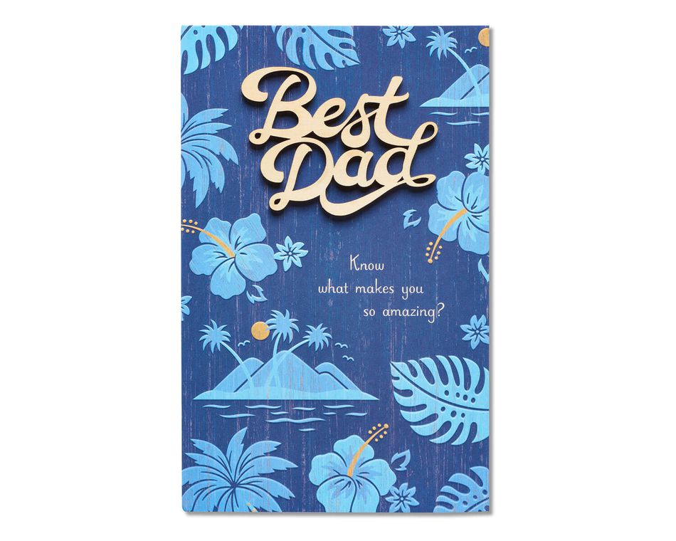 Best Dad Father's Day Card