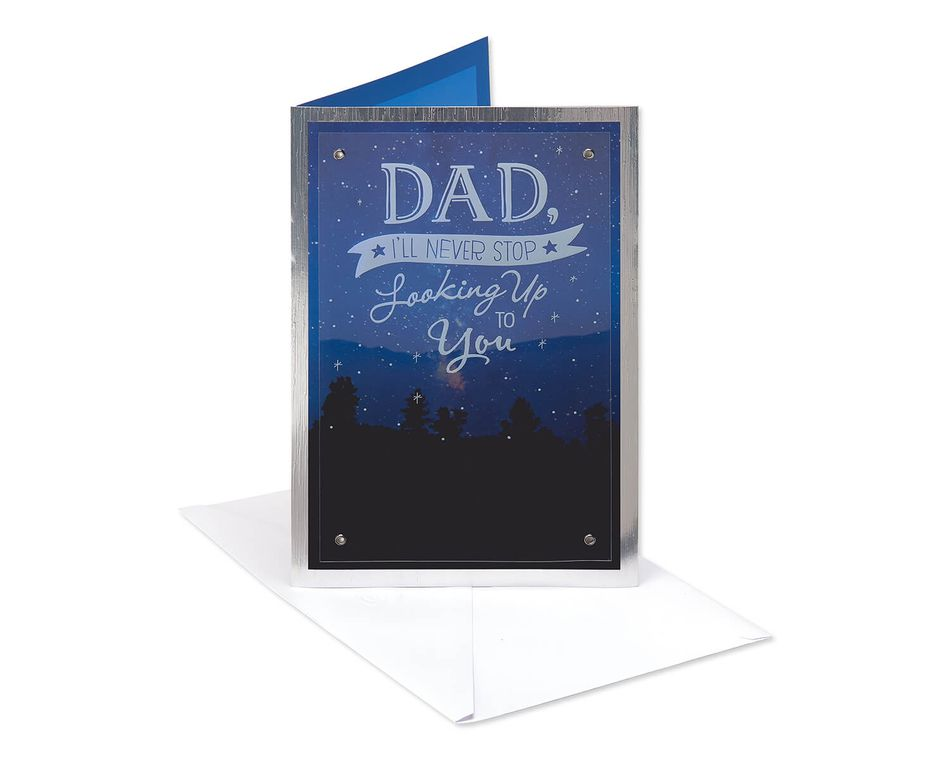 Starry Father's Day Card