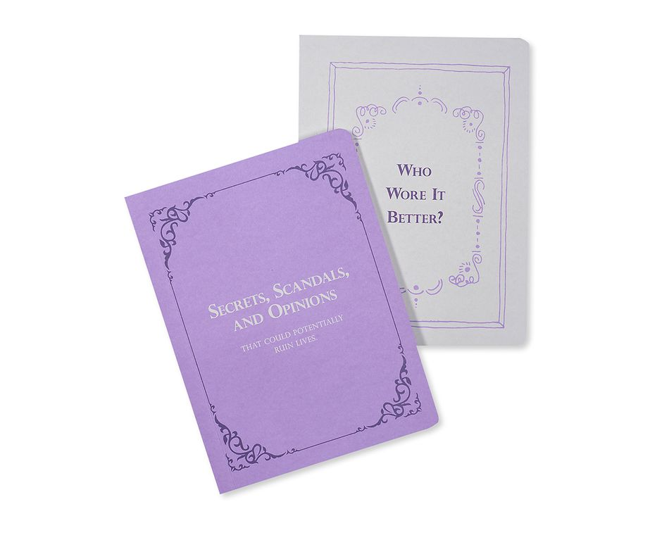 opinionated journals (set of 2)