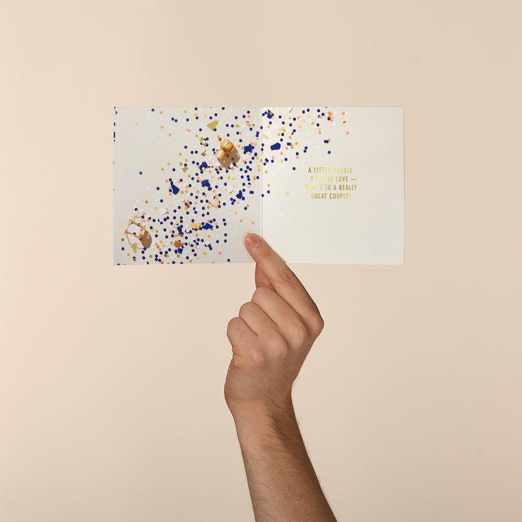 Champagne Anniversary Card