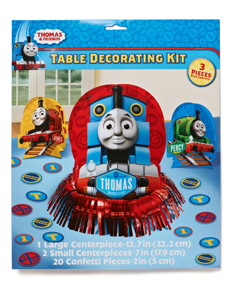 Thomas and Friends Table Decorations