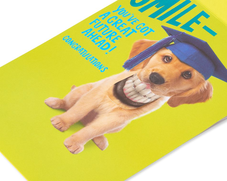 Puppy Graduation Card