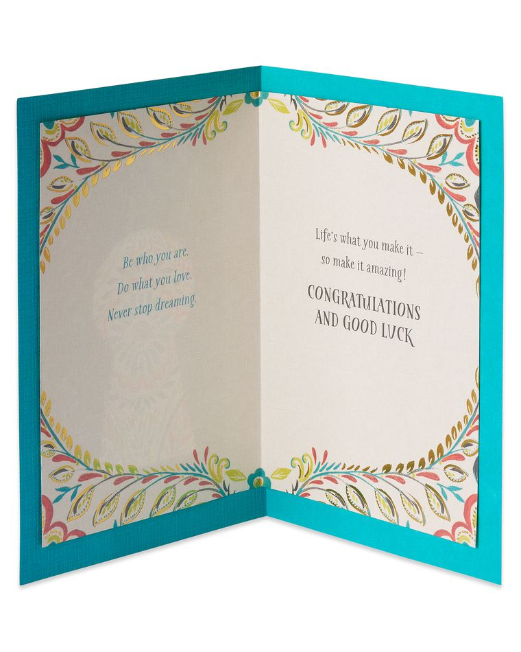 Key Graduation Card