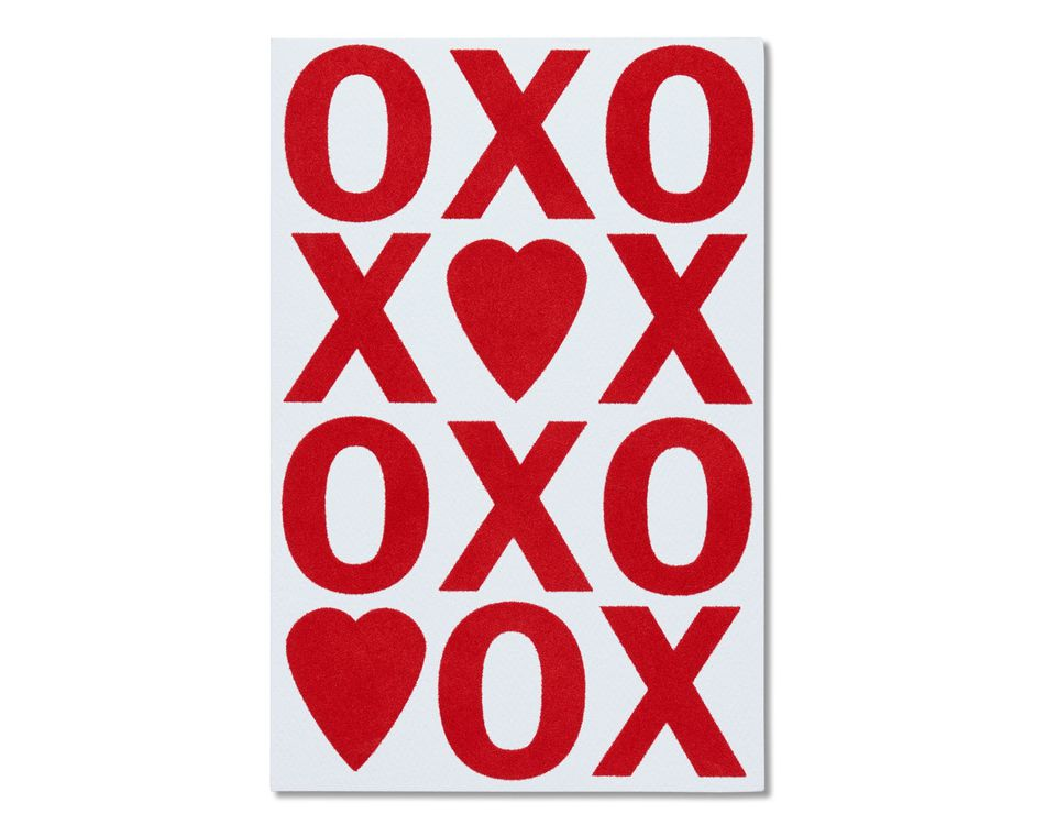 xo valentine's day card