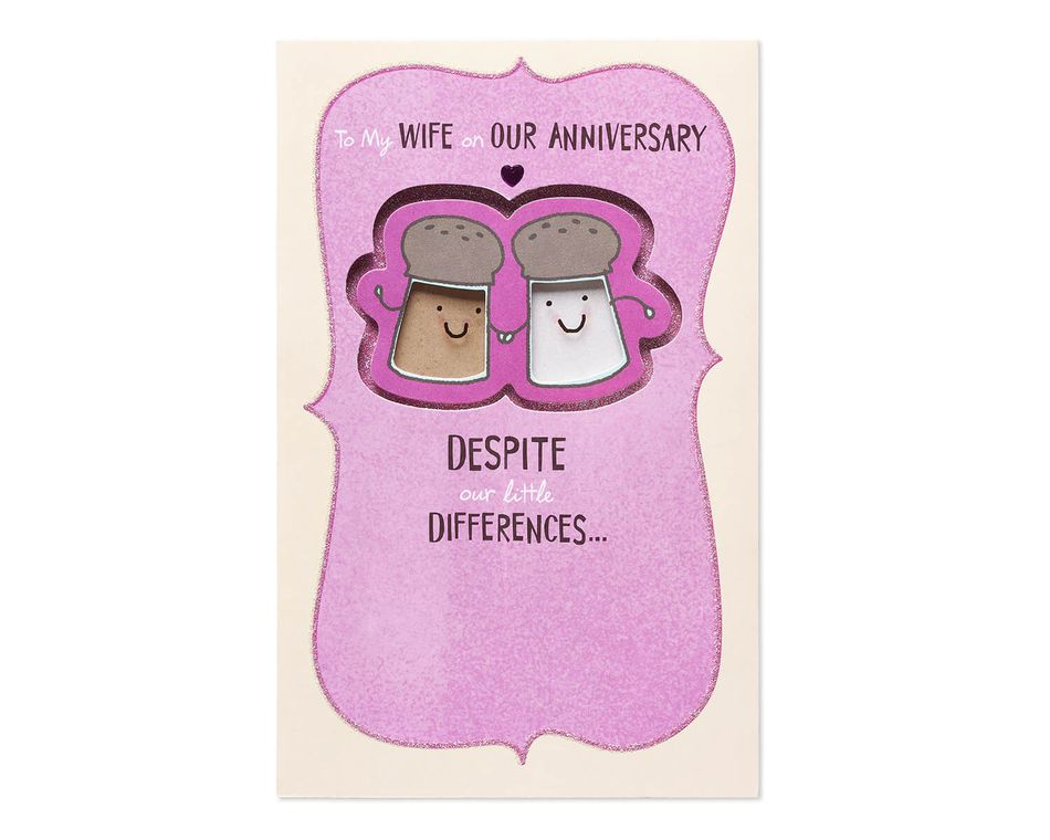 salt and pepper anniversary card for wife american greetings
