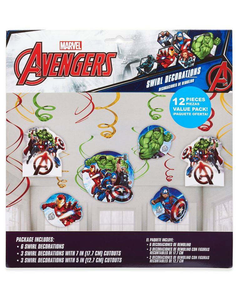 Avengers Epic Hanging Party Decorations, Party Supplies