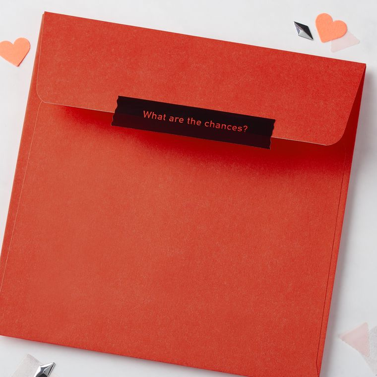 Romantic Defying the Odds Valentine's Day Card