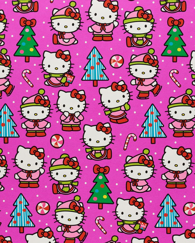 Hello Kitty Christmas Wrapping Paper, 40 Total Sq. Ft.