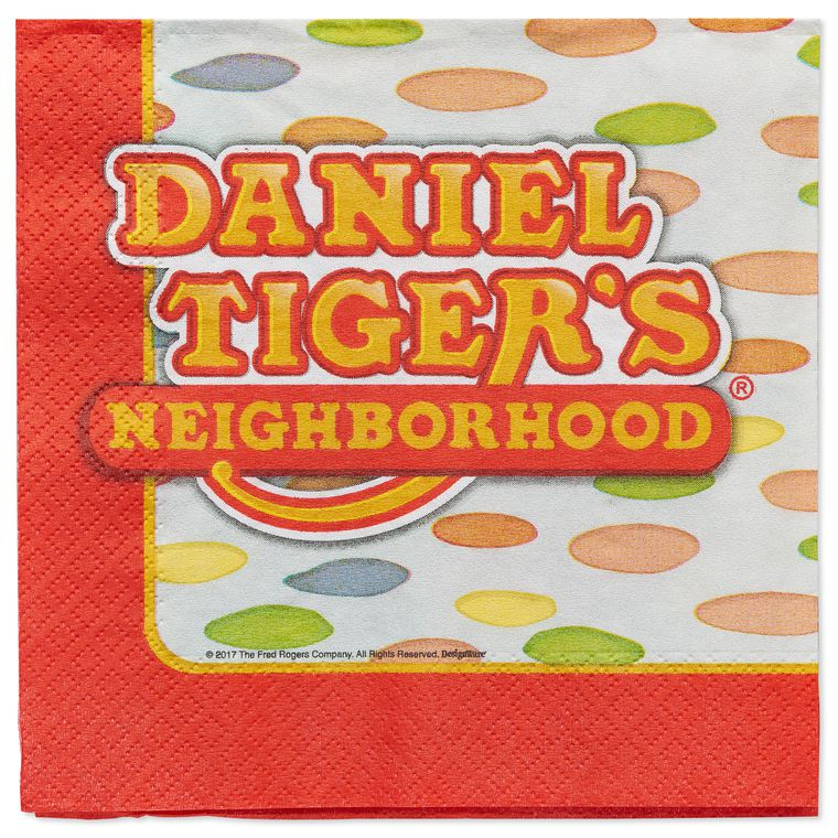 Daniel Tiger 16-Count Lunch Napkins