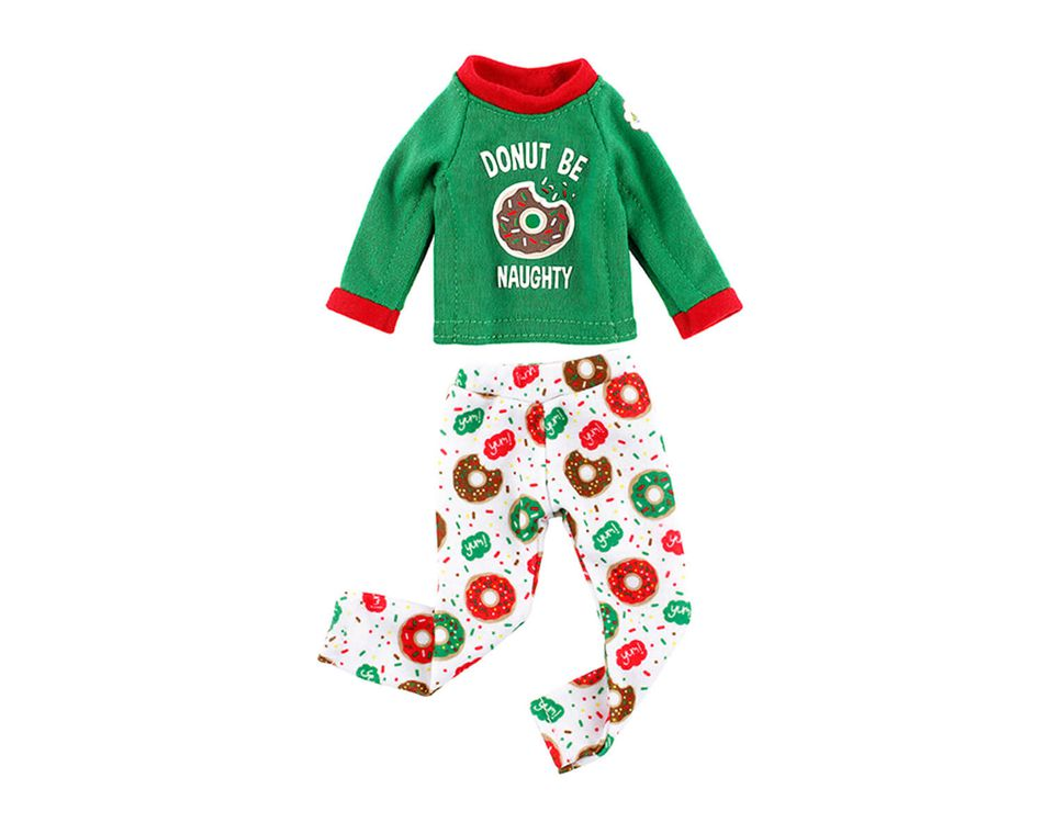 The Elf on the Shelf® Claus Couture Donut Be Naughty Pajamas
